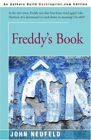 FREDDY'S BOOK by John Neufeld