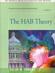 THE HAB THEORY by Allan W. Eckert