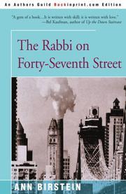 THE RABBI ON FORTY-SEVENTH STREET by Ann Birstein