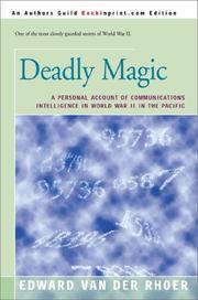DEADLY MAGIC by Edward Van Der Rhoer