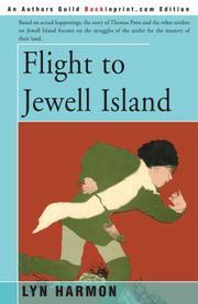 FLIGHT TO JEWELL ISLAND by Lyn Harmon