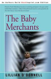 THE BABY MERCHANTS by Lillian O'Donnell