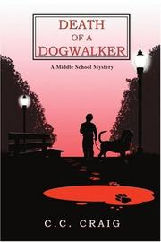 Book Cover for DEATH OF A DOGWALKER