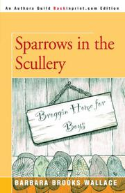 SPARROWS IN THE SCULLERY by Barbara Brooks Wallace