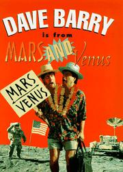 DAVE BARRY IS FROM MARS AND VENUS by Dave Barry