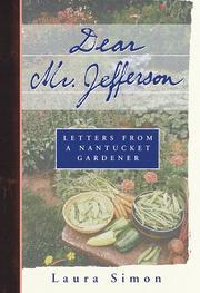 DEAR MR. JEFFERSON by Laura Simon
