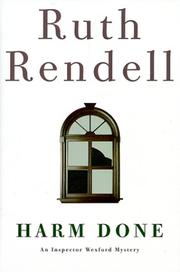 HARM DONE by Ruth Rendell