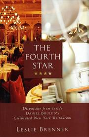 THE FOURTH STAR by Leslie Brenner