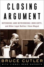 CLOSING ARGUMENT by Bruce Cutler