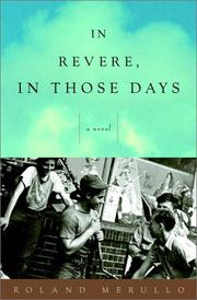 Cover art for IN REVERE, IN THOSE DAYS