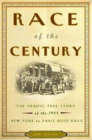 RACE OF THE CENTURY by Julie Fenster