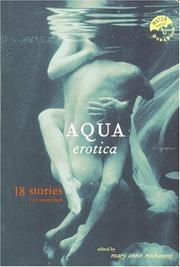 AQUA EROTICA by Mary Anne Mohanraj