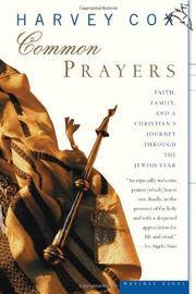 COMMON PRAYERS by Harvey Cox