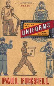 Book Cover for UNIFORMS