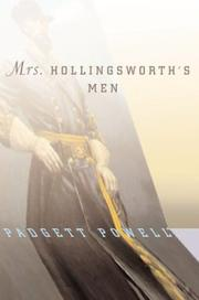 MRS. HOLlINGSWORTH'S MEN by Padgett Powell
