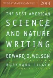 THE BEST AMERICAN SCIENCE AND NATURE WRITING 2001 by Edward O. Wilson