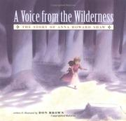 A VOICE FROM THE WILDERNESS by Don Brown