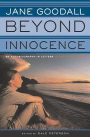 BEYOND INNOCENCE by Jane Goodall