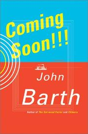 COMING SOON!!! by John Barth