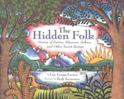 THE HIDDEN FOLK by Lise Lunge-Larsen