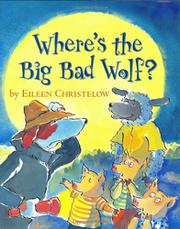 Book Cover for WHERE'S THE BIG BAD WOLF?