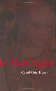 IN PLAIN SIGHT by Carol Otis Hurst