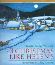 Cover art for A CHRISTMAS LIKE HELEN'S