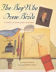 Cover art for THE BOY WHO DREW BIRDS