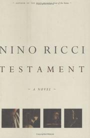 TESTAMENT by Nino Ricci
