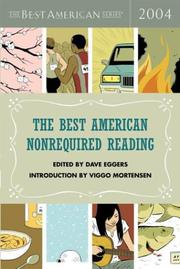 THE BEST AMERICAN NONREQUIRED READING 2004 by Dave Eggers