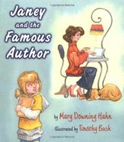 Cover art for JANEY AND THE FAMOUS AUTHOR