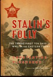 STALIN'S FOLLY by Constantine Pleshakov