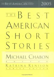 Cover art for THE BEST AMERICAN SHORT STORIES 2005
