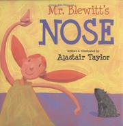 MR. BLEWITT'S NOSE by Alastair Taylor