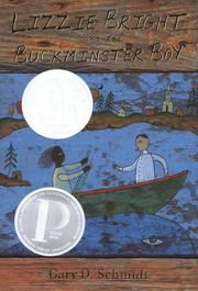 Cover art for LIZZIE BRIGHT AND THE BUCKMINSTER BOY
