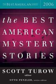 THE BEST AMERICAN MYSTERY STORIES 2006 by Scott Turow