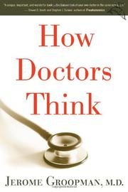Book Cover for HOW DOCTORS THINK
