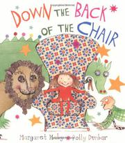 Book Cover for DOWN THE BACK OF THE CHAIR