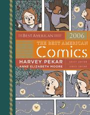 Cover art for THE BEST AMERICAN COMICS 2006
