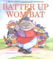 BATTER UP WOMBAT by Helen Lester