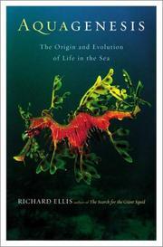 AQUAGENESIS by Richard Ellis