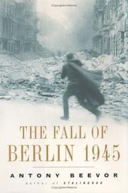 Cover art for THE FALL OF BERLIN 1945