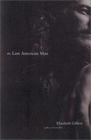 Cover art for THE LAST AMERICAN MAN
