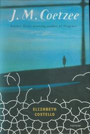 Cover art for ELIZABETH COSTELLO