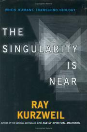 Cover art for THE SINGULARITY IS NEAR