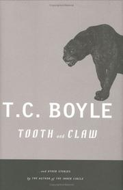 Cover art for TOOTH AND CLAW