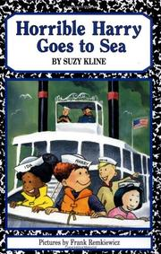 Cover art for HORRIBLE HARRY GOES TO SEA