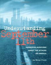 UNDERSTANDING SEPTEMBER 11TH by Mitch Frank