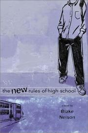 Cover art for THE NEW RULES OF HIGH SCHOOL