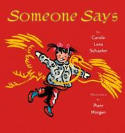 Cover art for SOMEONE SAYS